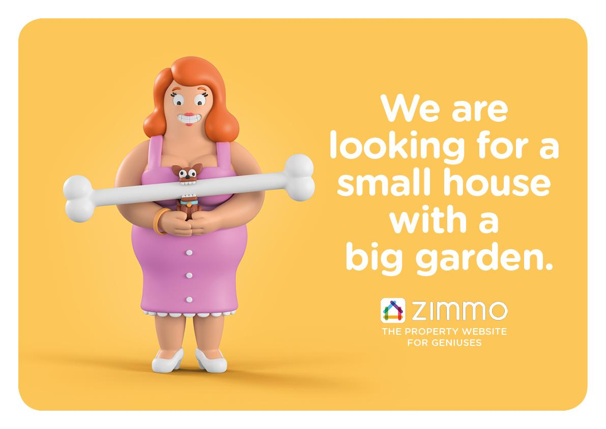 Zimmo Print Ad - The Property Website for Geniuses, 5
