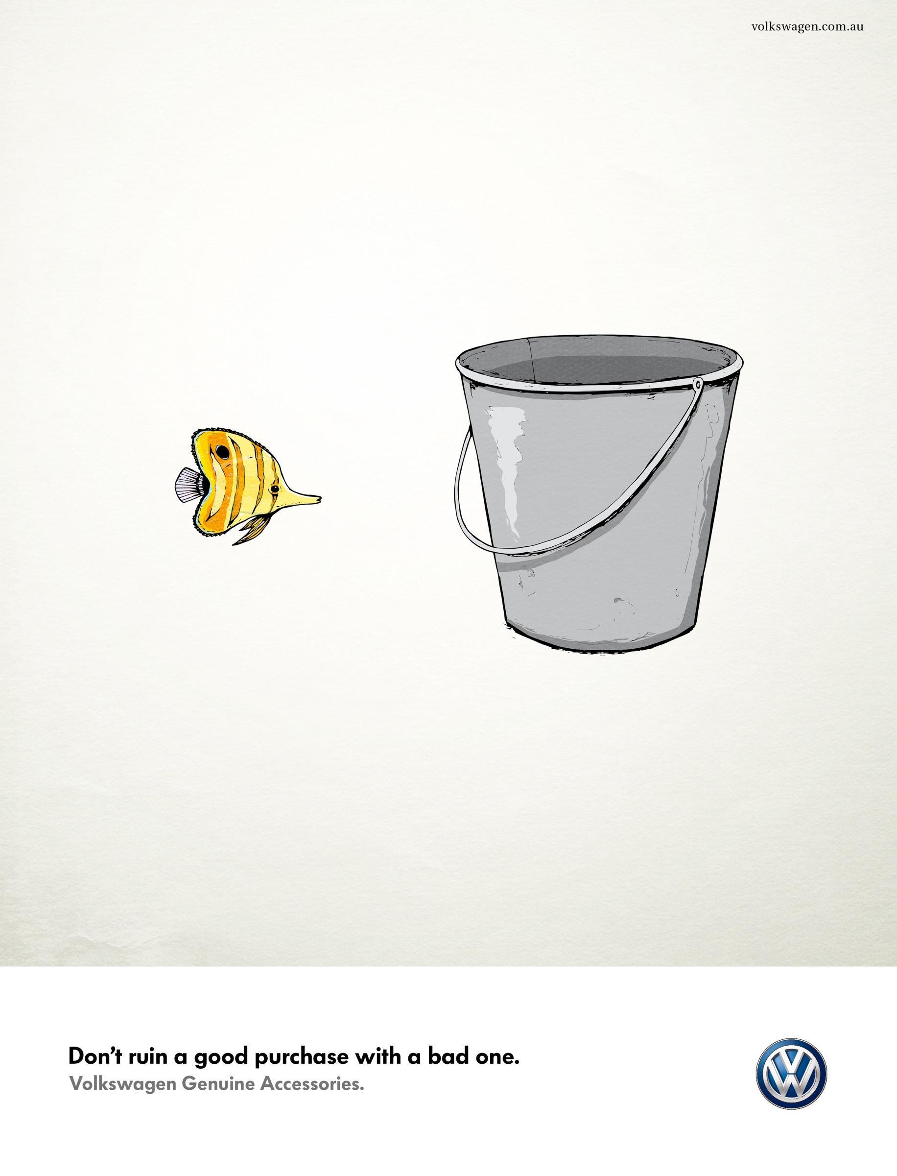 Volkswagen Print Ad -  Fish