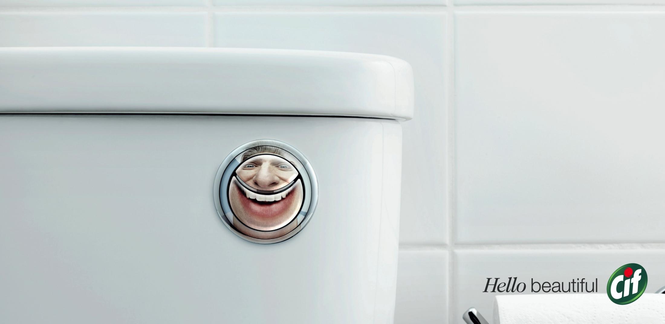 Cif Print Ad - Hello Beautiful, 1