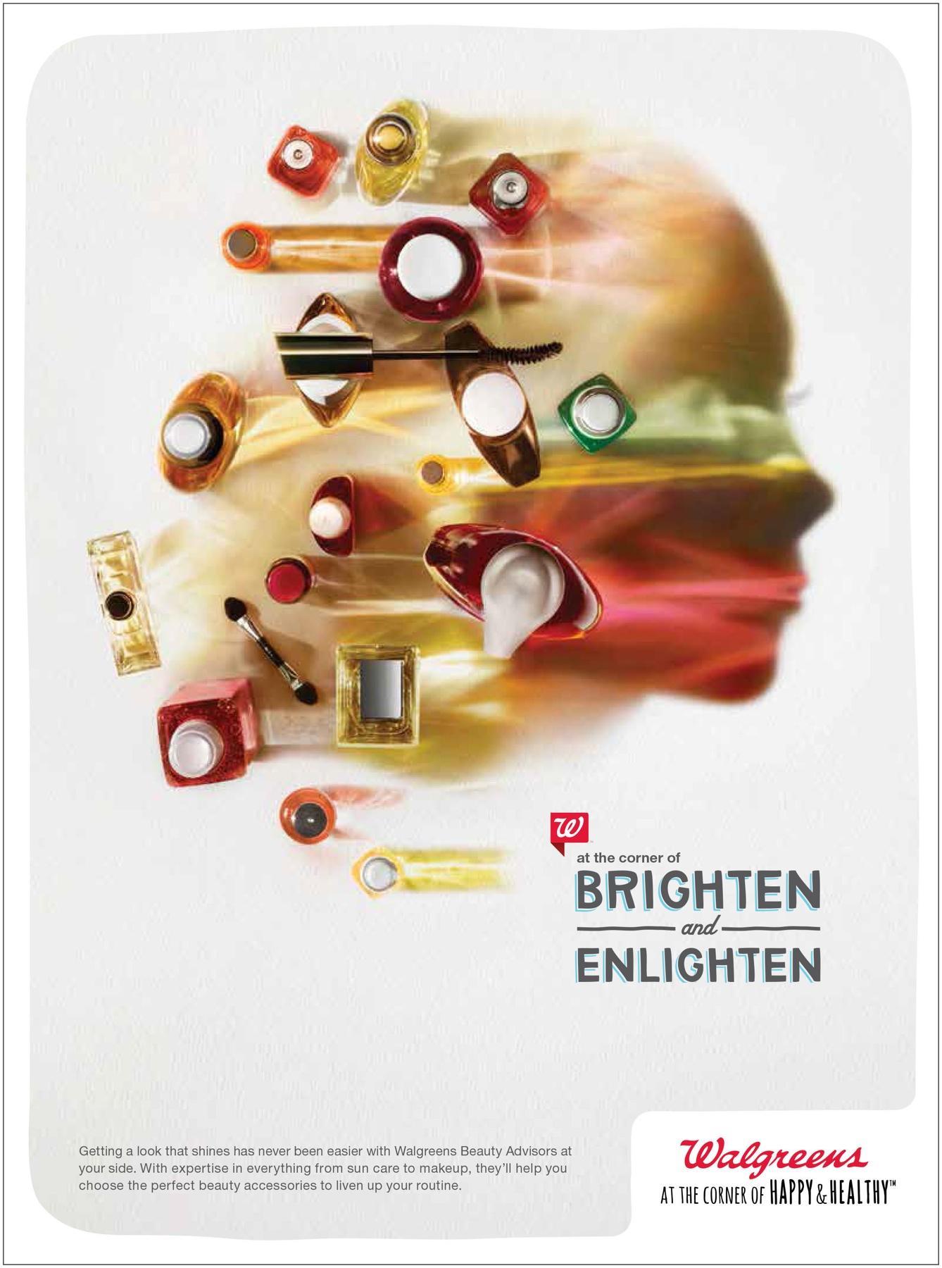 Walgreens Print Ad -  Brighten & Enlighten