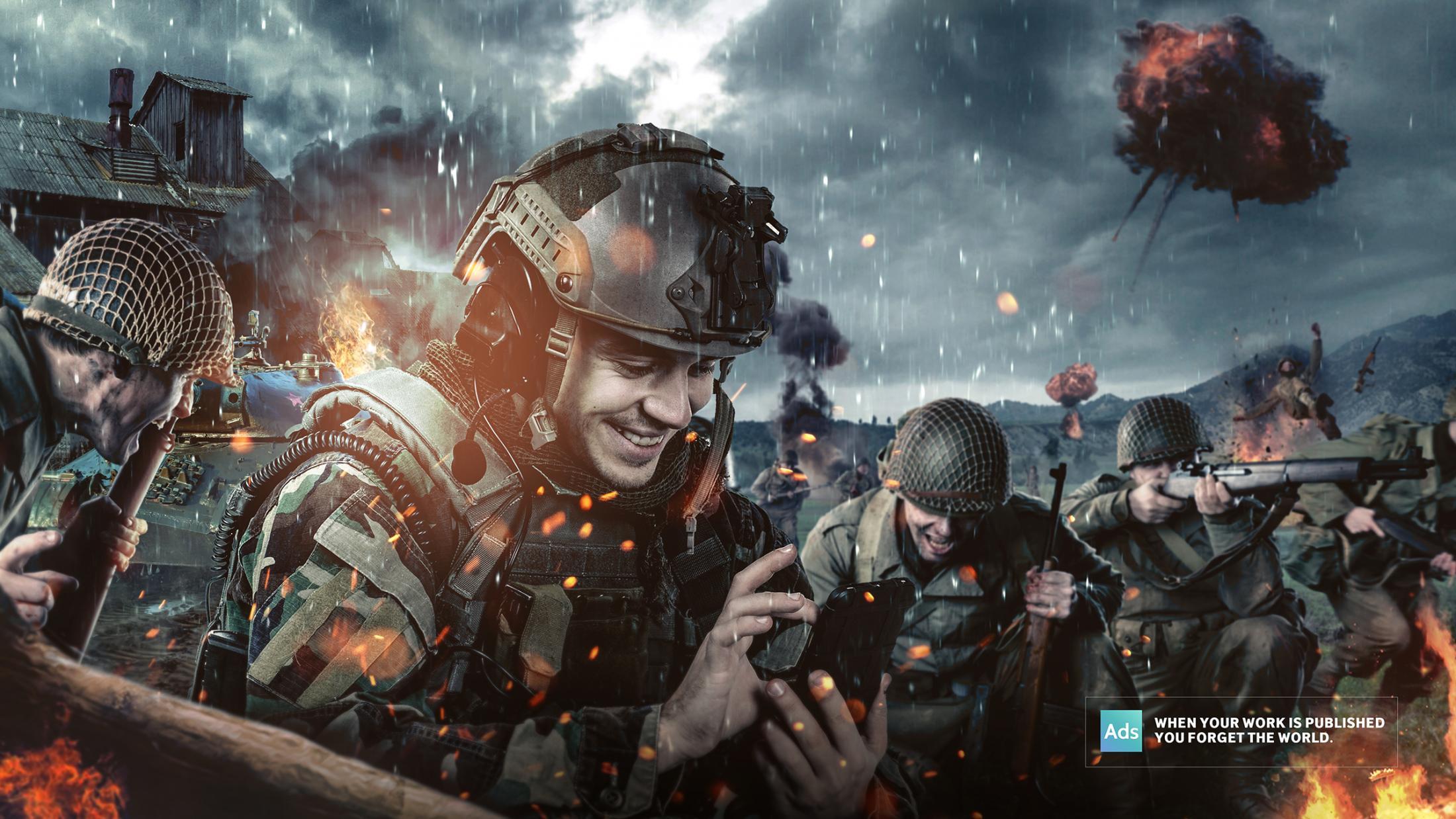 Ads of the World Print Ad - War
