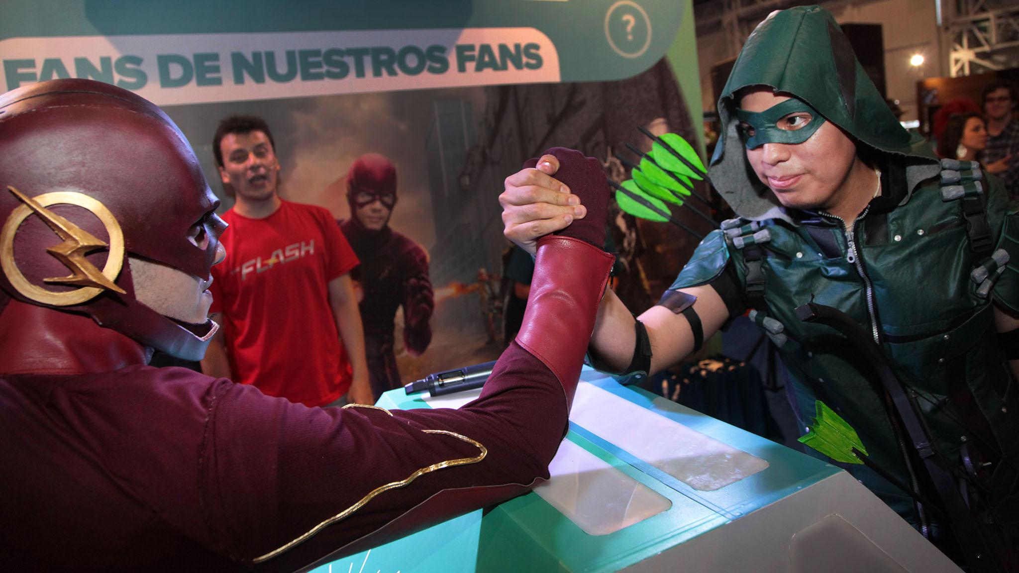 Warner Experiential Ad - Argentina Comic Con 2016