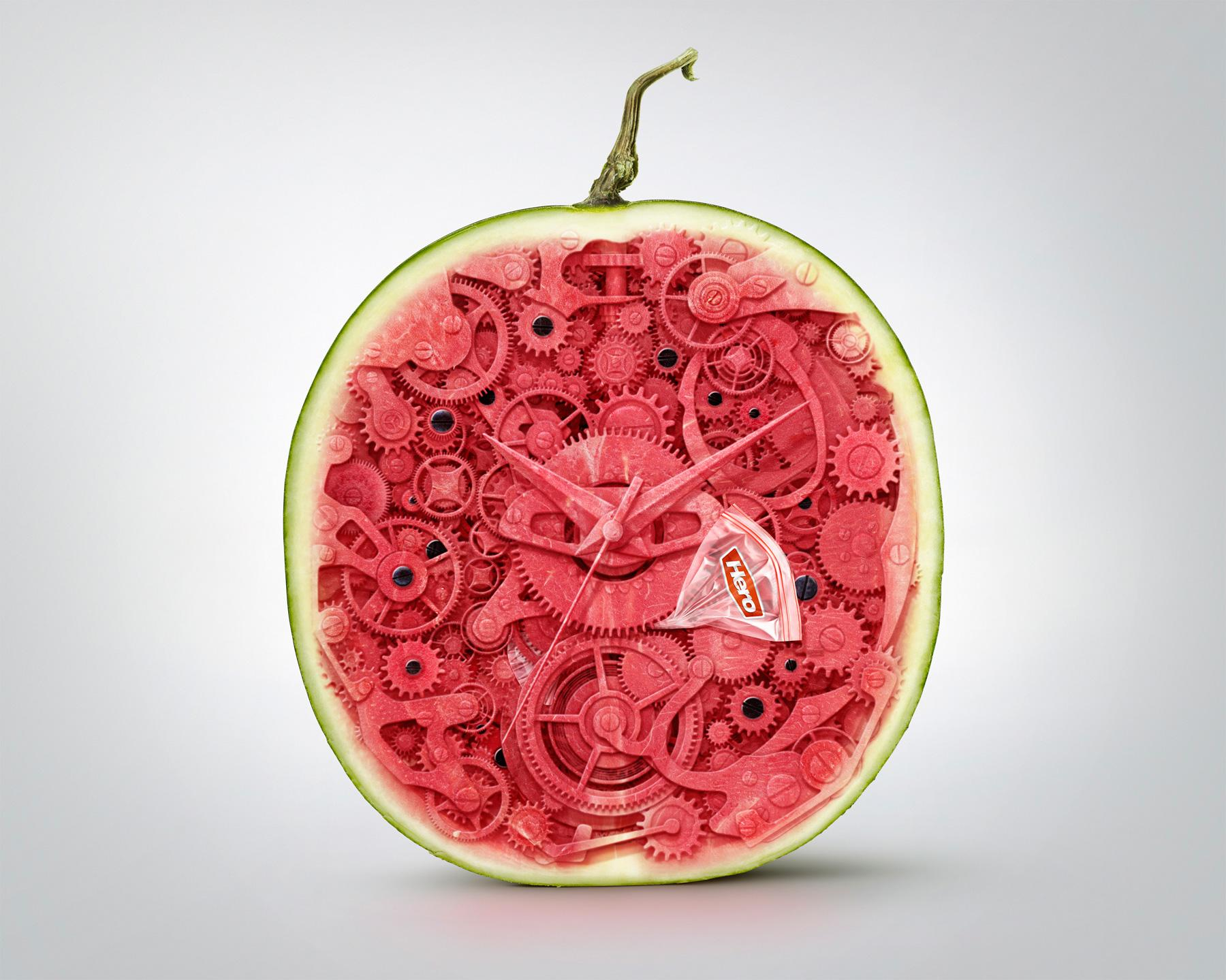 Hero Print Ad -  Watermelon