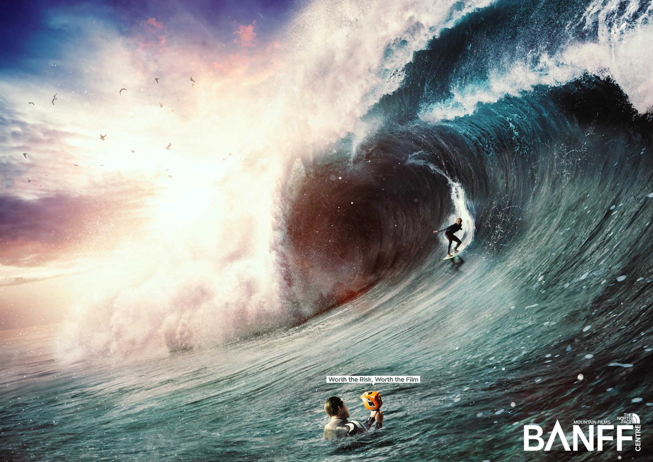 The North Face Print Ad - North Face Mountain Film Festival - Wave