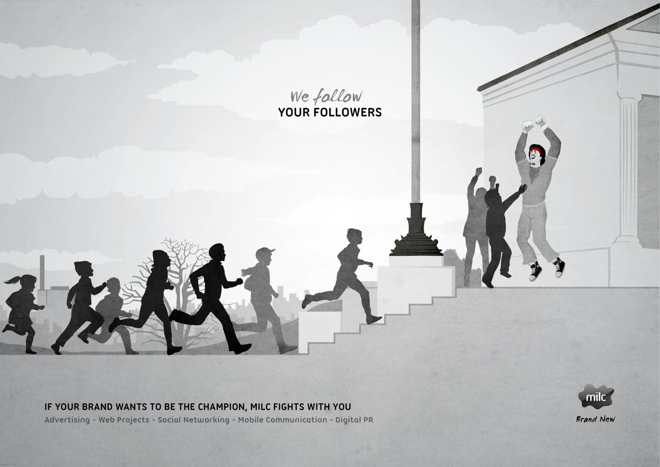 Milc Print Ad -  Fight