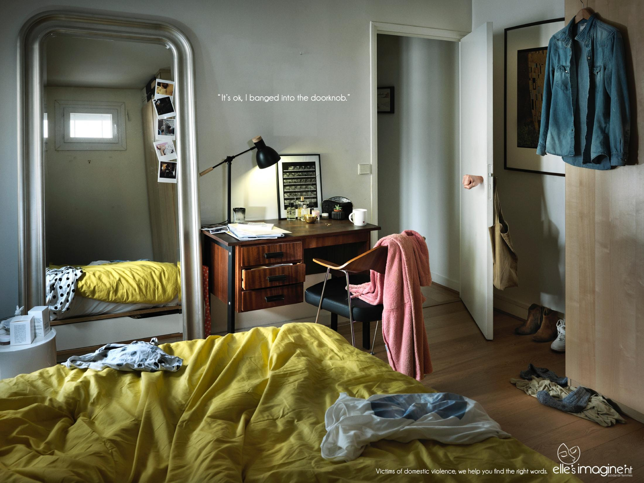 Elle's Imagine'nt Print Ad -  The right words, 1