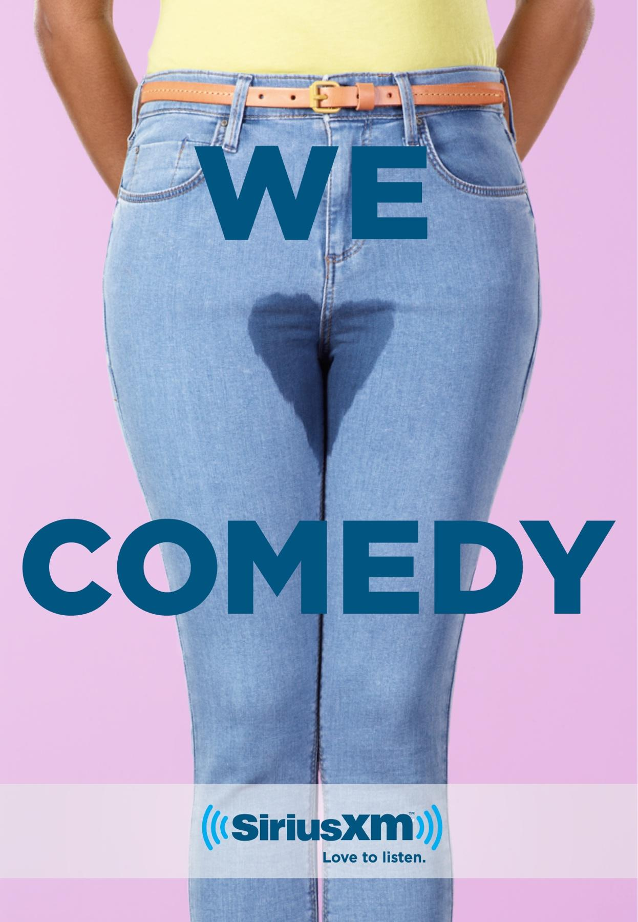 Sirius Print Ad -  We Love Comedy, 2