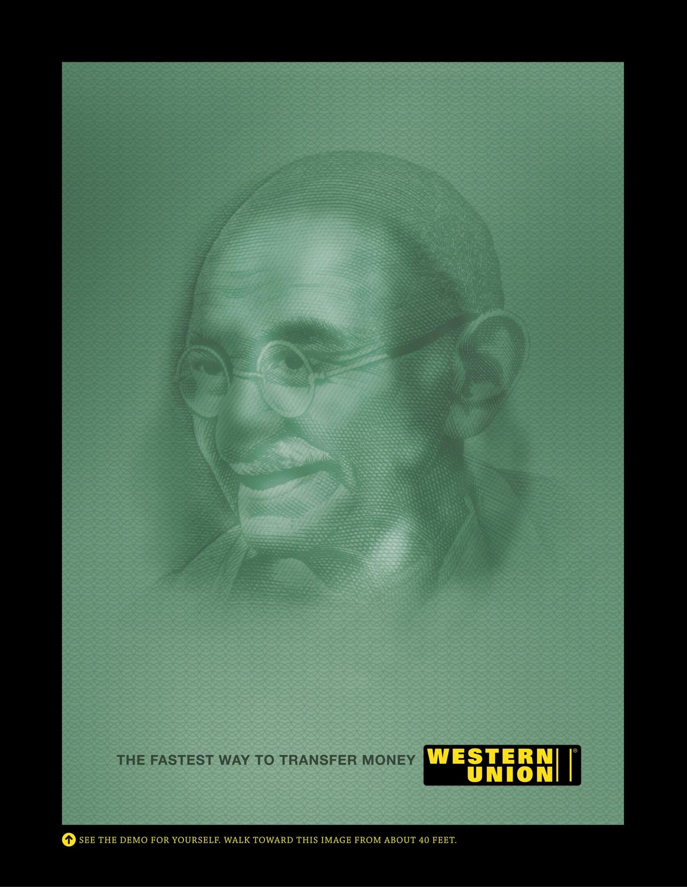 Western Union Outdoor Ad -  Franklyn Gandhi