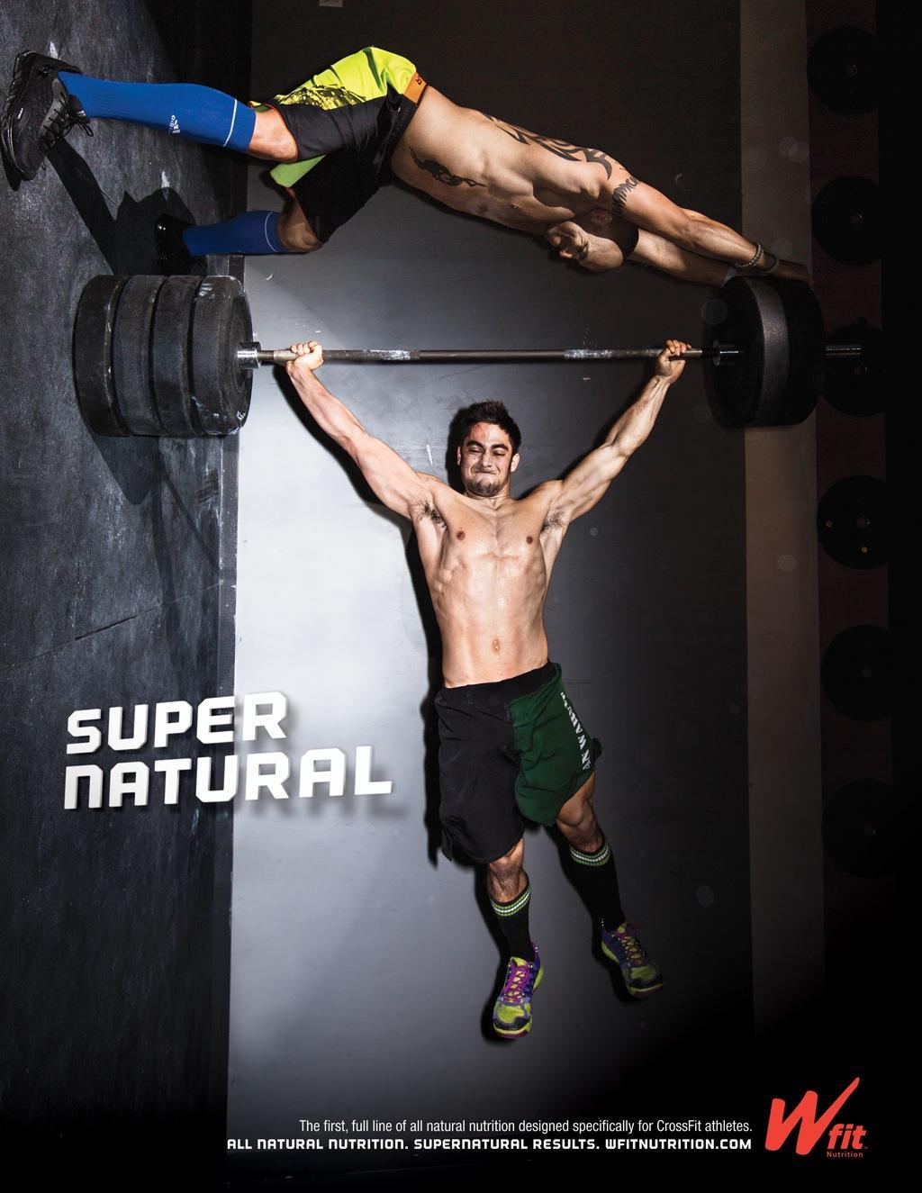 Wfit Nutrition Print Ad -  Super Natural, 1