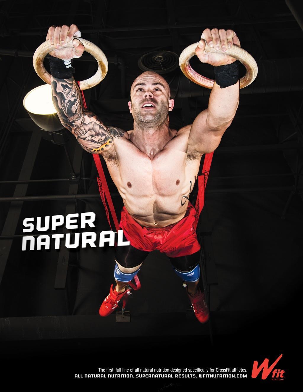 Wfit Nutrition Print Ad -  Super Natural, 4