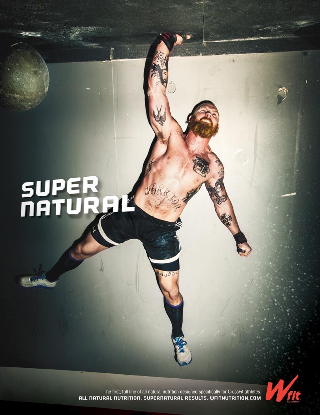 Wfit Nutrition Print Ad -  Super Natural, 7