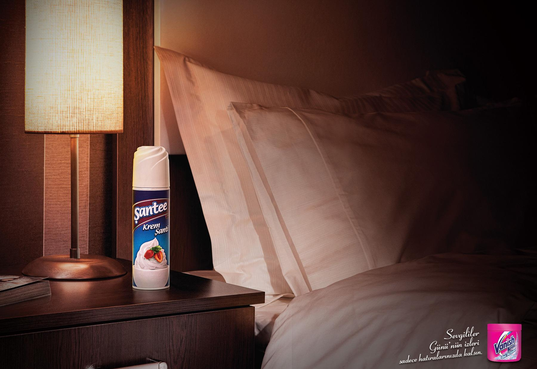 Vanish Print Ad -  Whipped Cream
