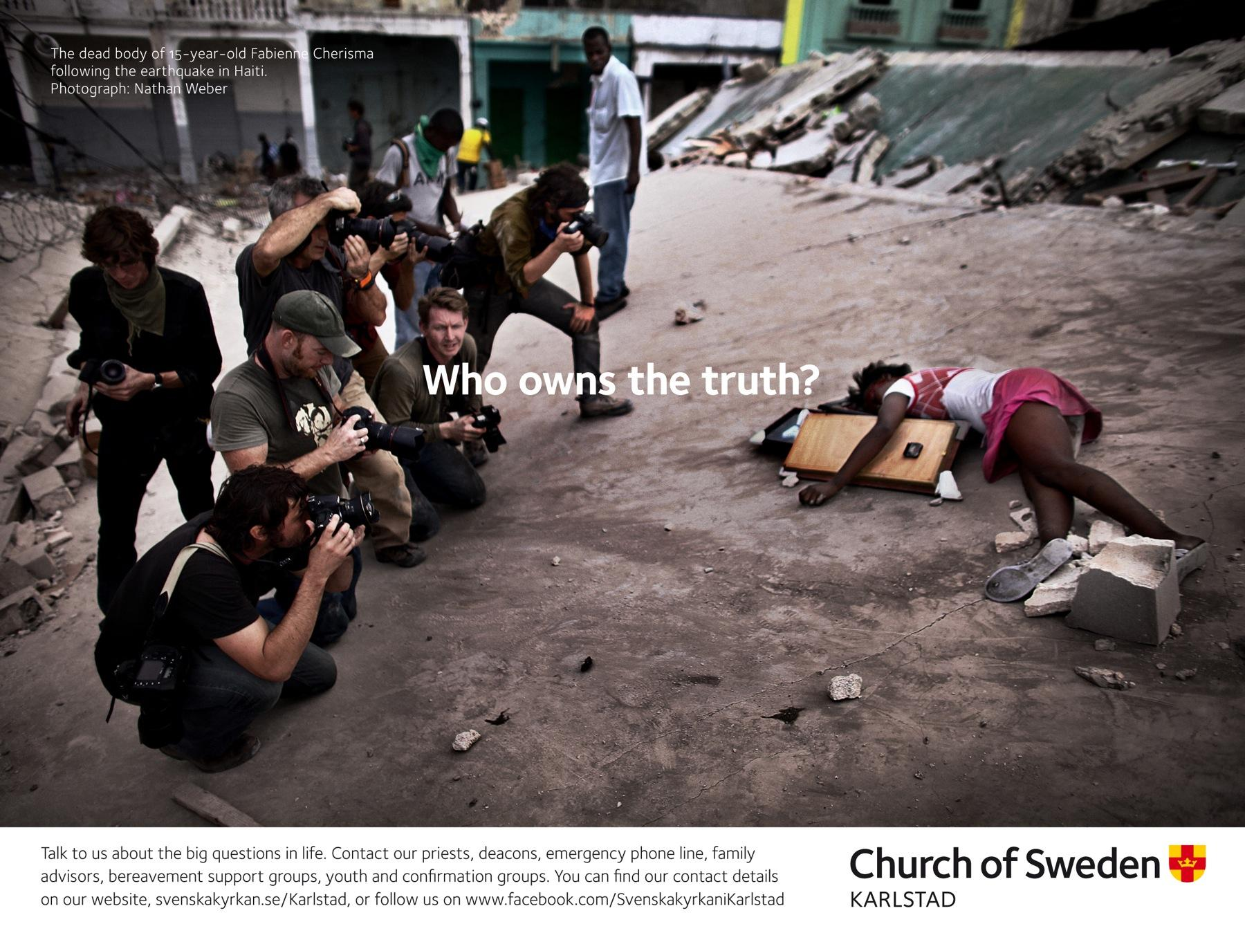 Church of Sweden Outdoor Ad -  Big Questions, 3