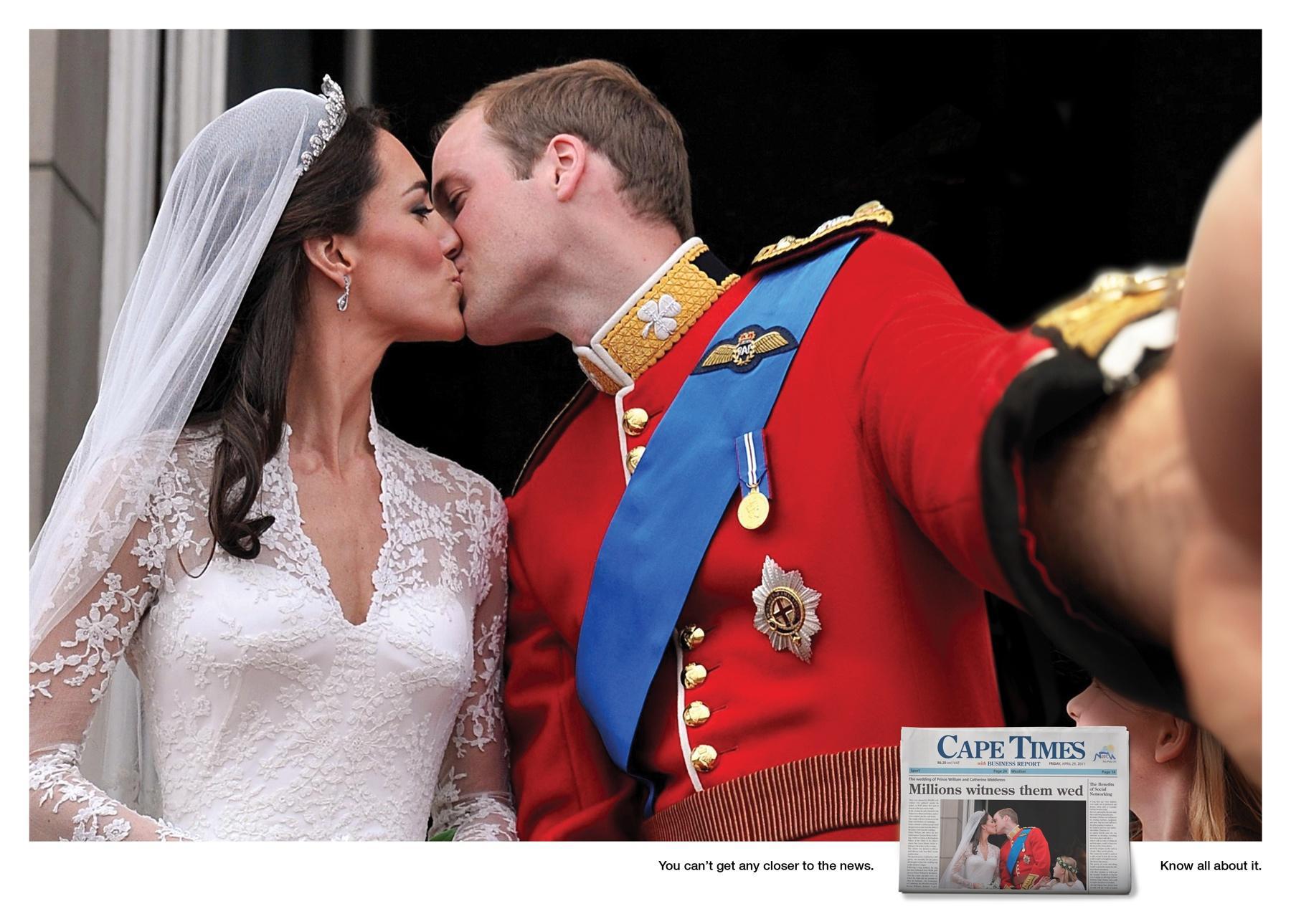 Cape Times Print Ad -  William