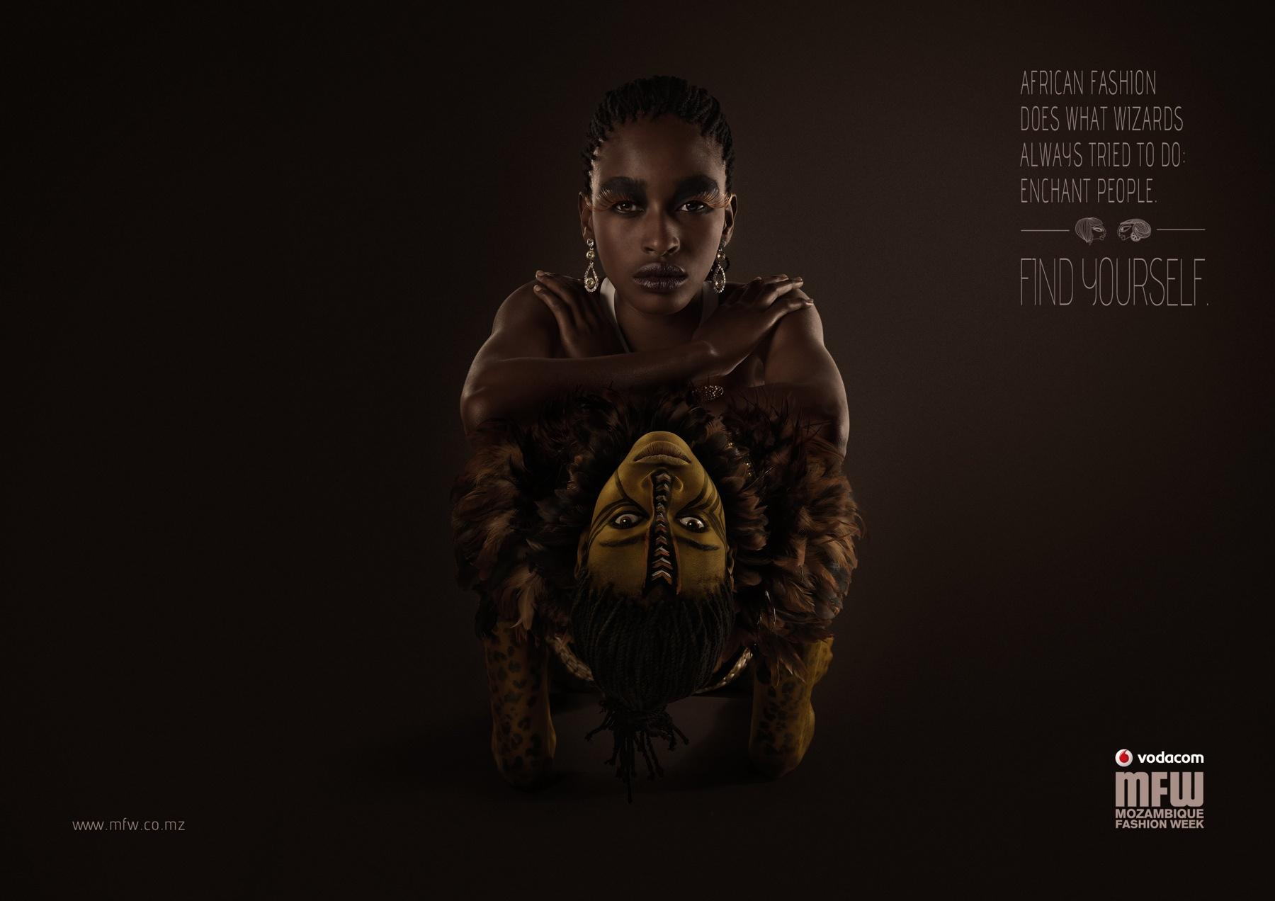 Mozambique Fashion Week Print Ad -  Wizards