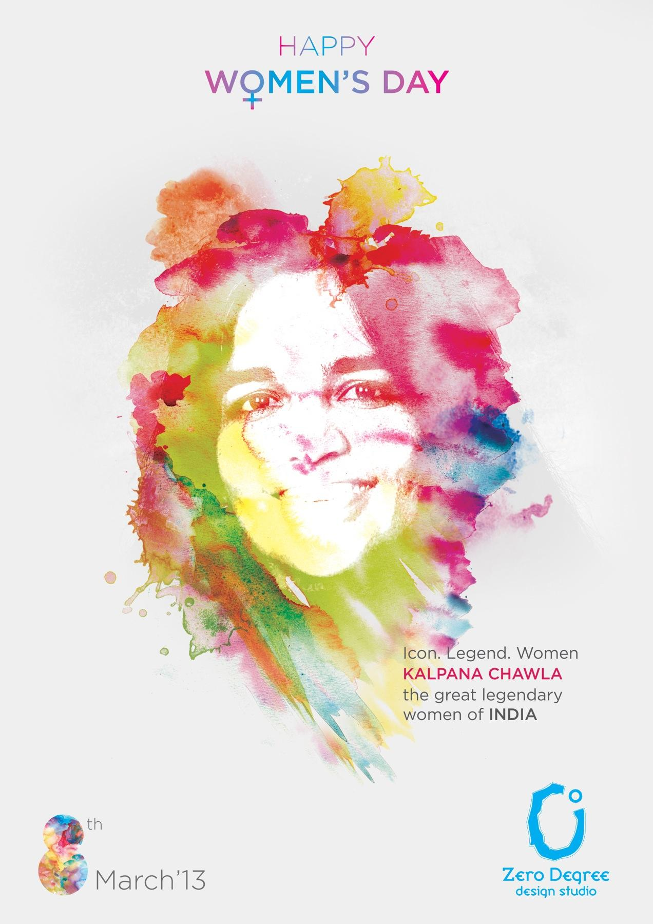 Zero Degree Design Studio Print Ad -  Happy Women's Day, 4