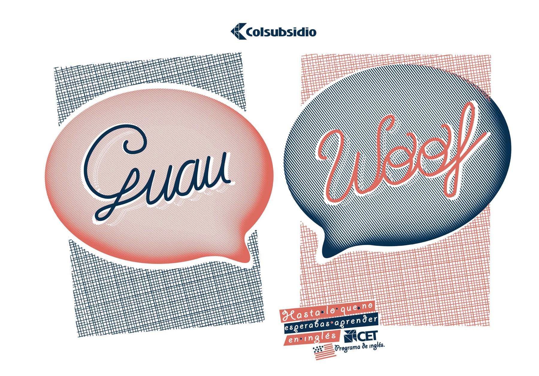 Colsubsidio Print Ad -  Woof