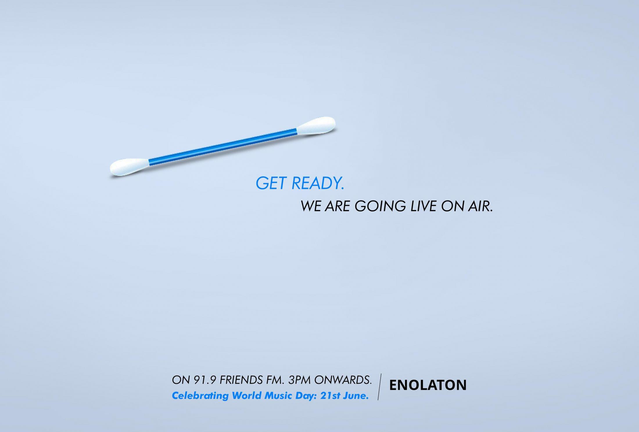 Enolaton Digital Ad - World Music Day
