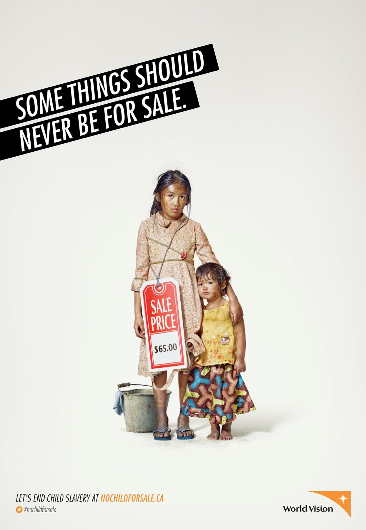 World Vision Print Ad -  Child, 4