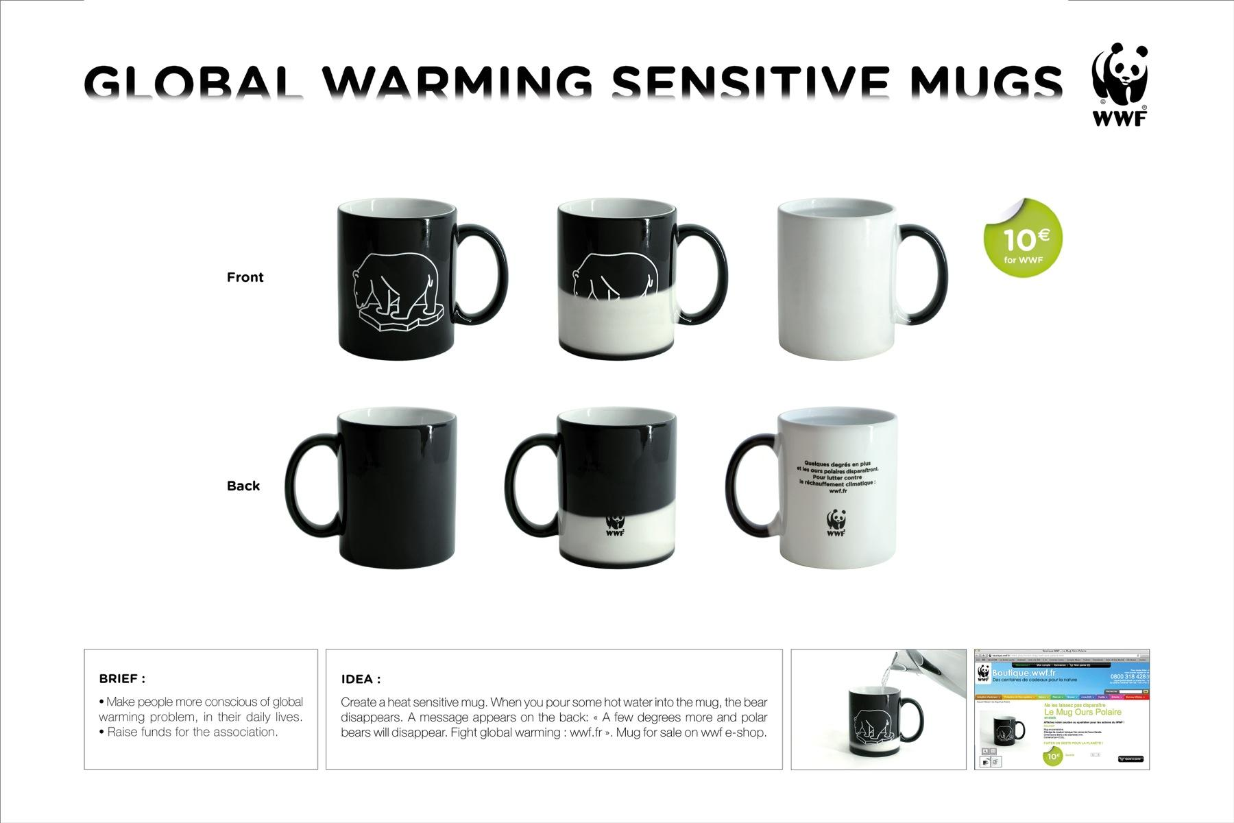 WWF Direct Ad -  Mugs