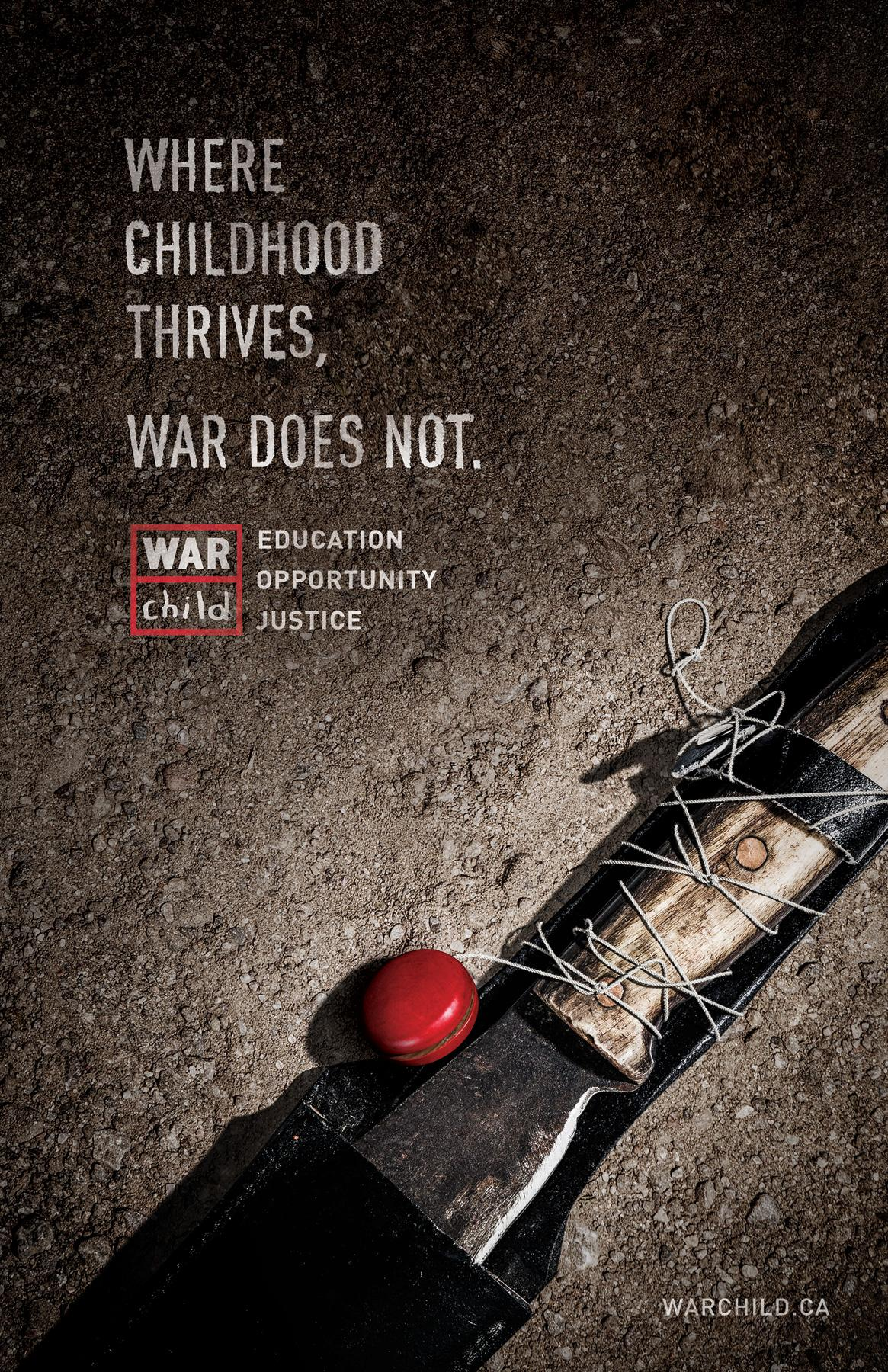 War Child Print Ad -  Machete
