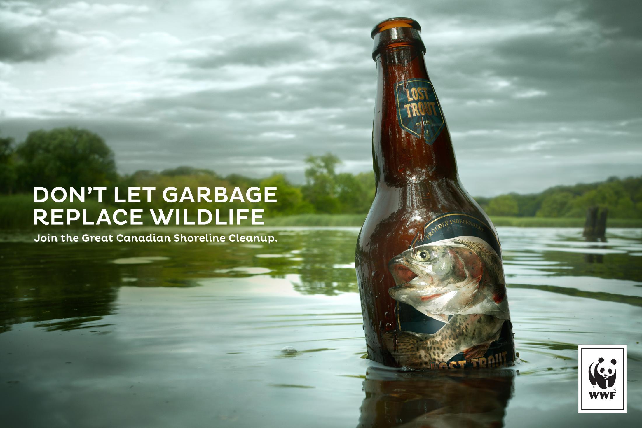WWF Print Ad - Trout