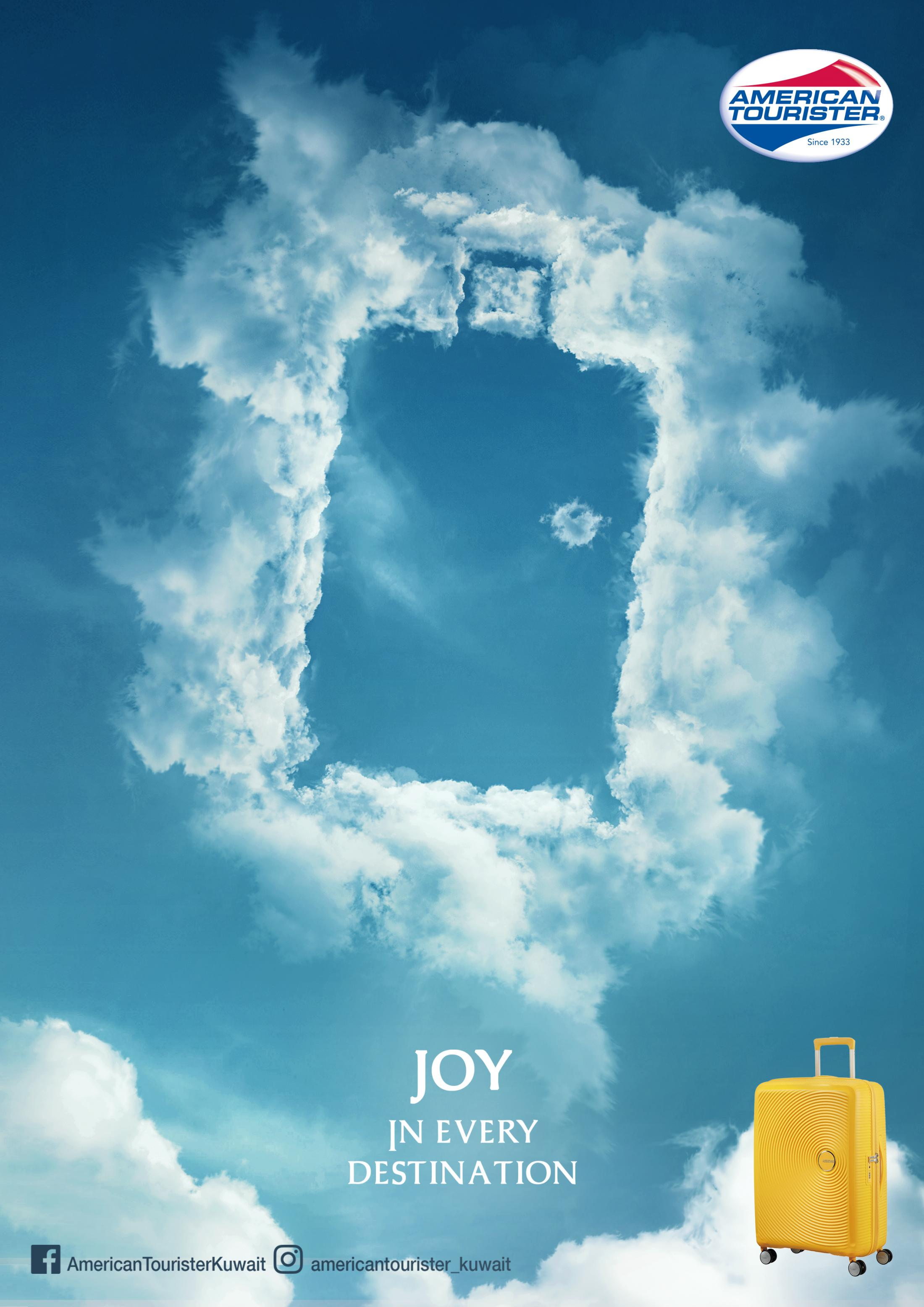 American Tourister Print Ad - Joy in Every Destination, 3