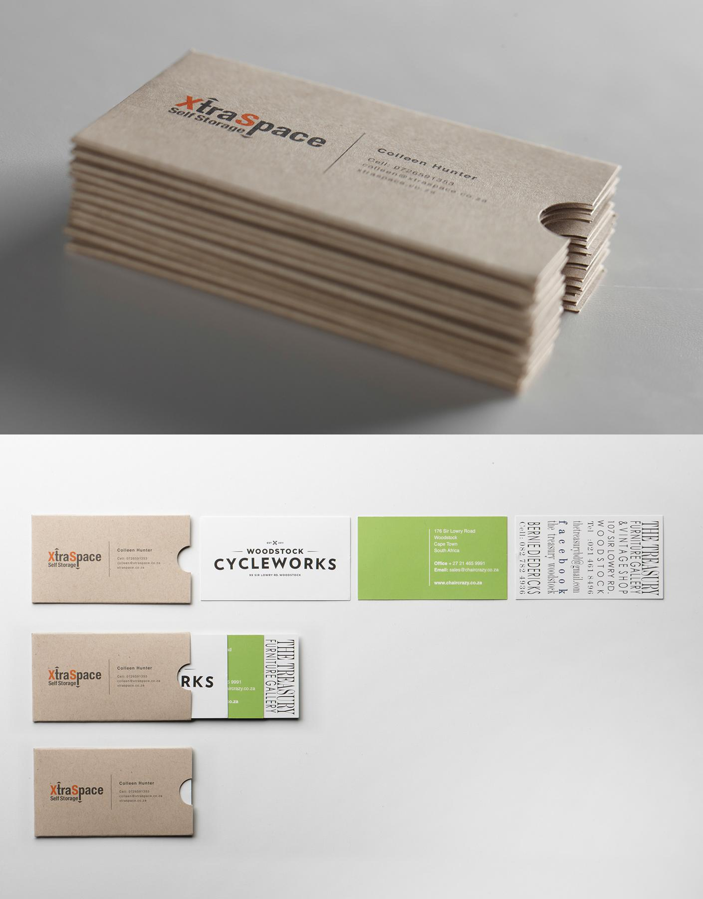Xtra Space Direct Ad -  Storage Business Card