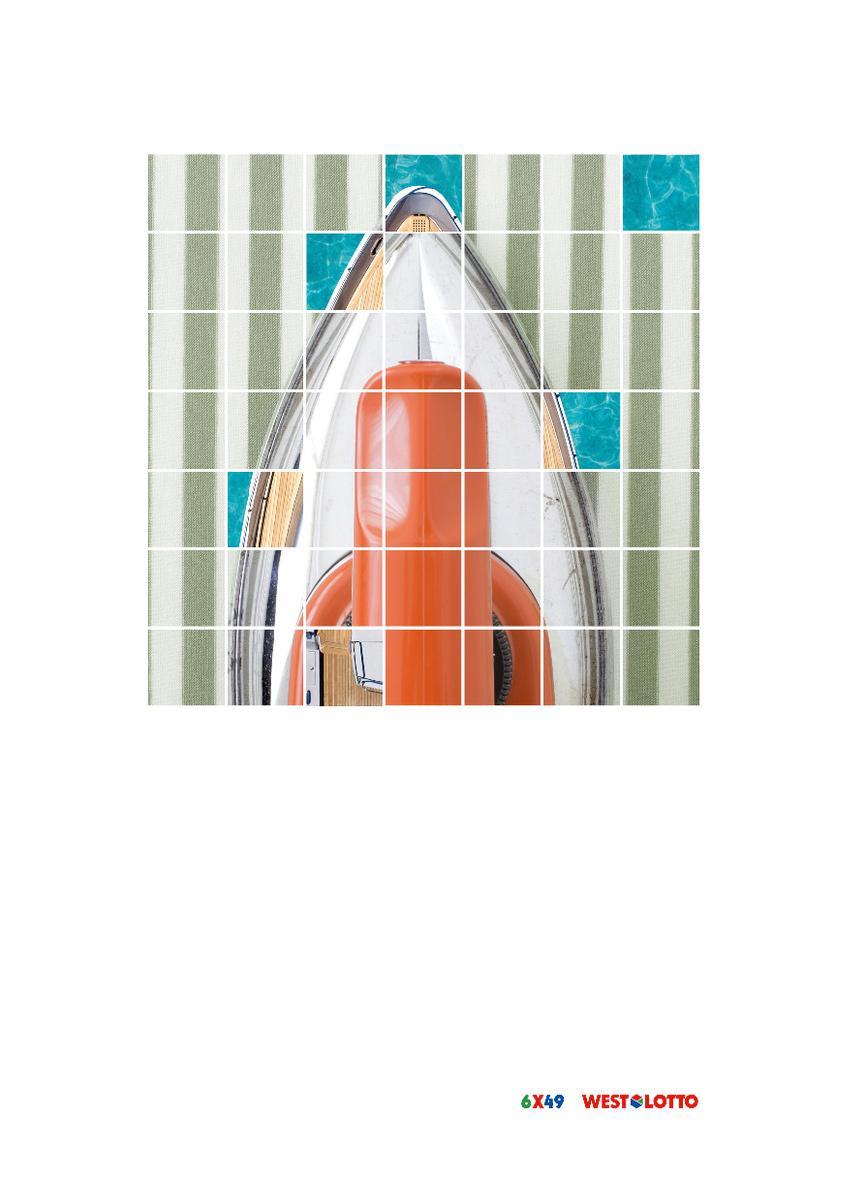 Westdeutsche Lotterie Outdoor Ad -  Yacht