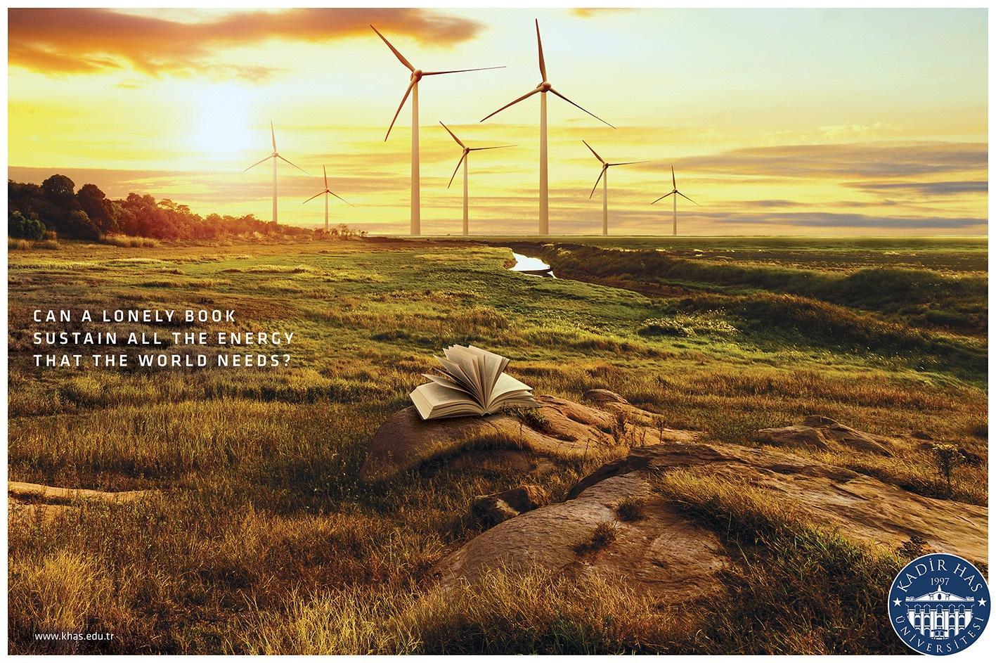 Kadir Has University Print Ad -  Energy