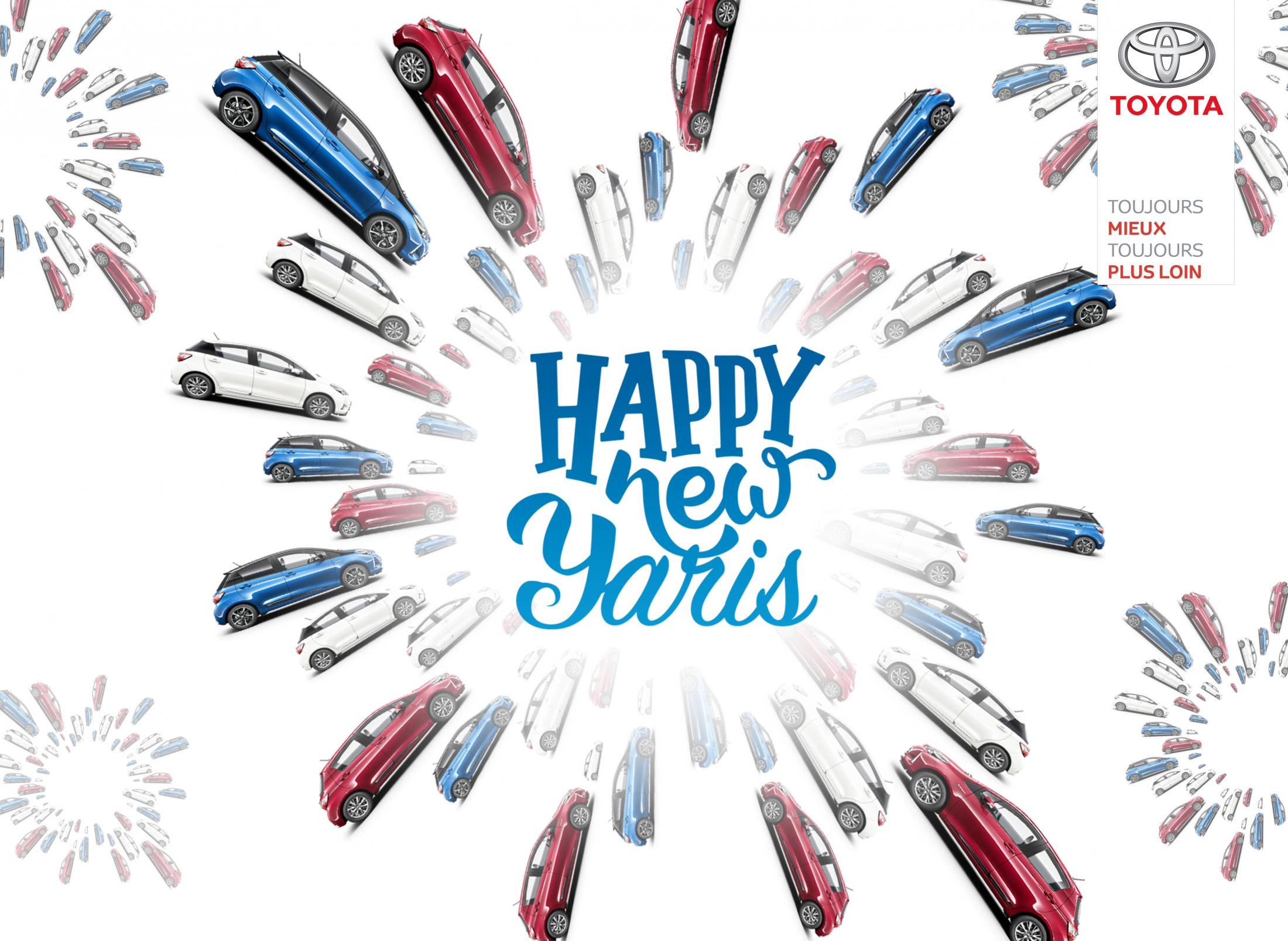Toyota Digital Ad - Happy New Yaris