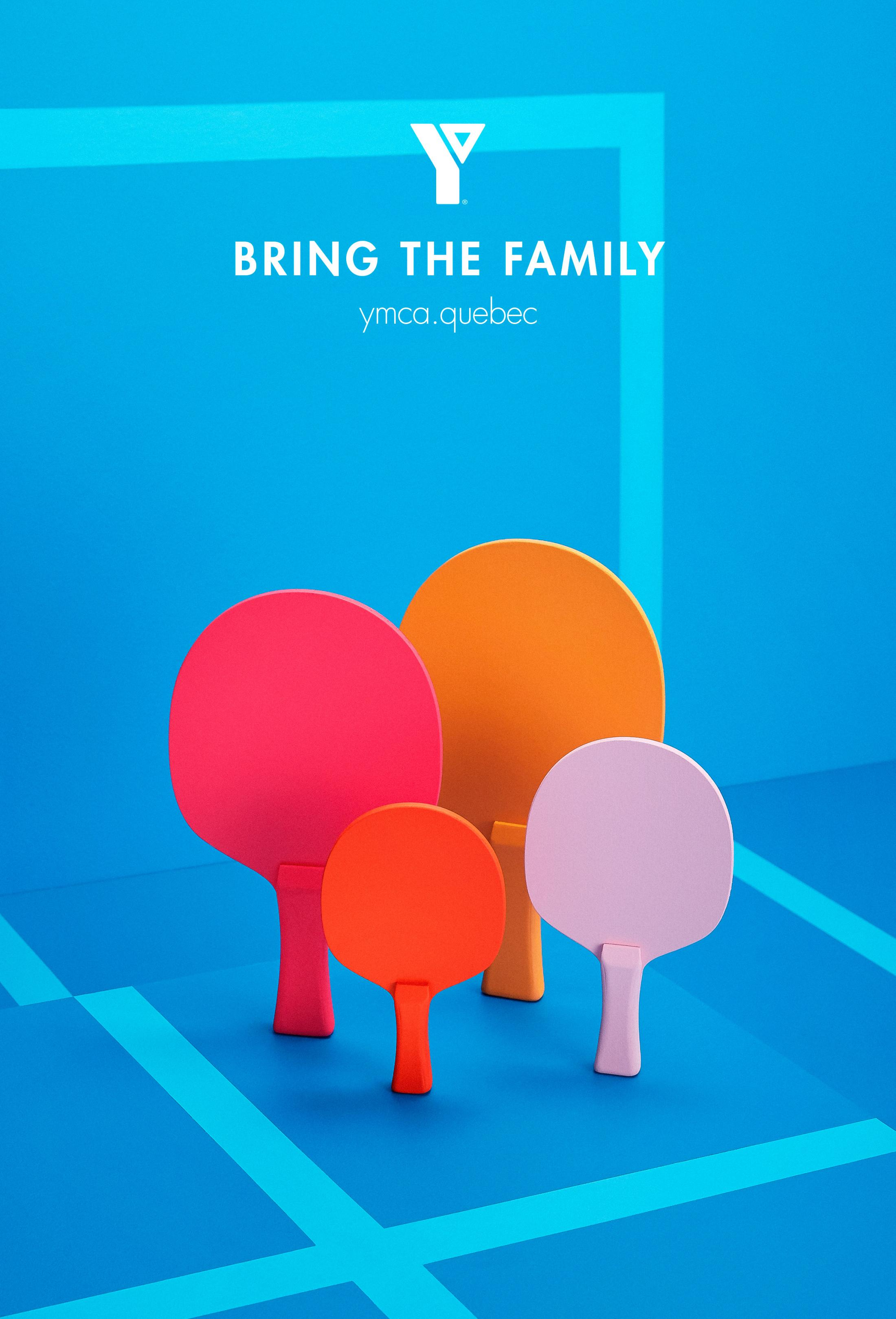 YMCA Outdoor Ad - Ping Pong