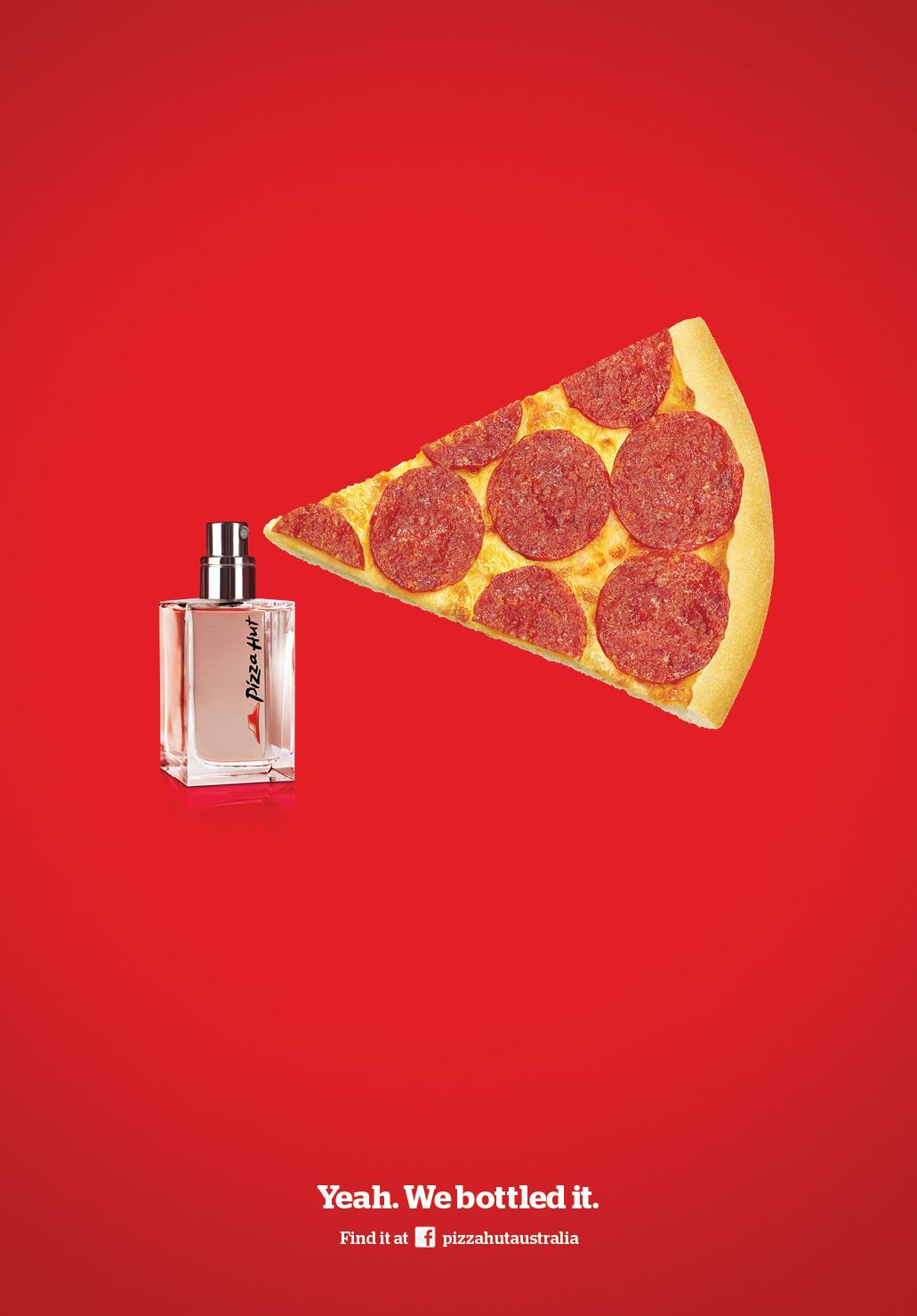 Pizza Hut Print Ad -  Eau de Pizza Hut