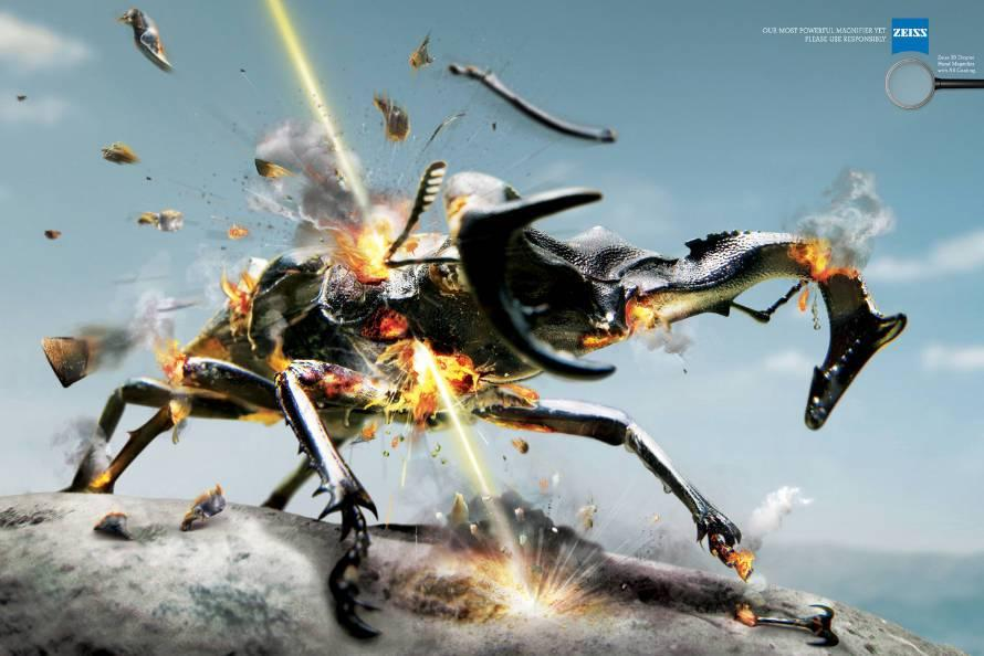 Zeiss Print Ad -  Beetle