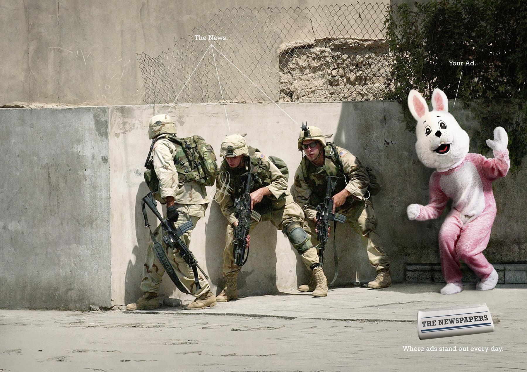 ZMG Print Ad -  Bunny