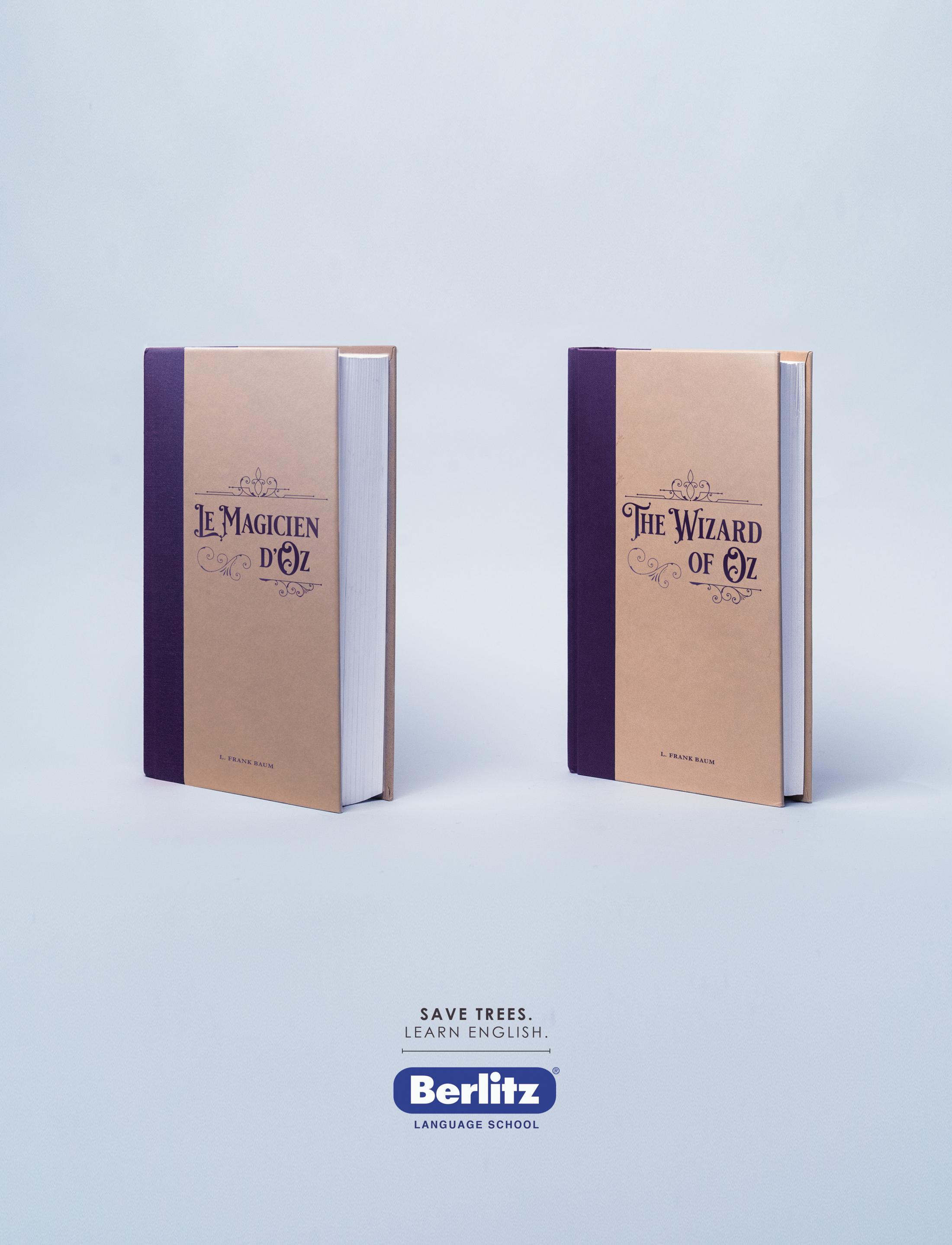 Berlitz Print Ad - Oz