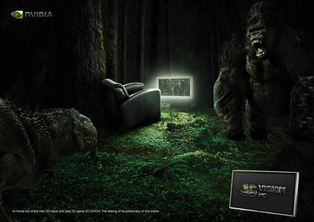 NVIDIA海报创意