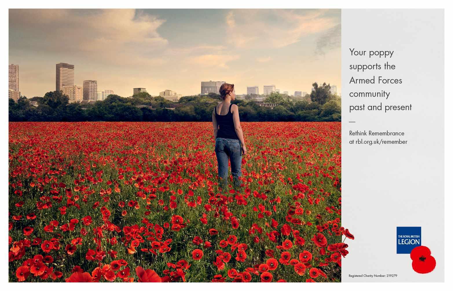 The Royal British Legion Print Ad - Poppy, 1