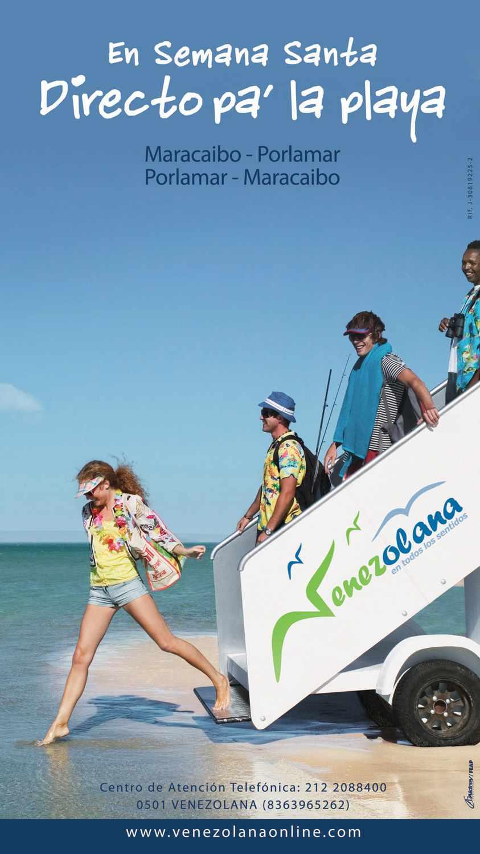 Venezolana ( Airlines ) Directo pa´ la playa