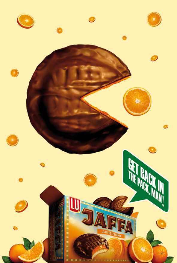 Jaffa PacMan Orange