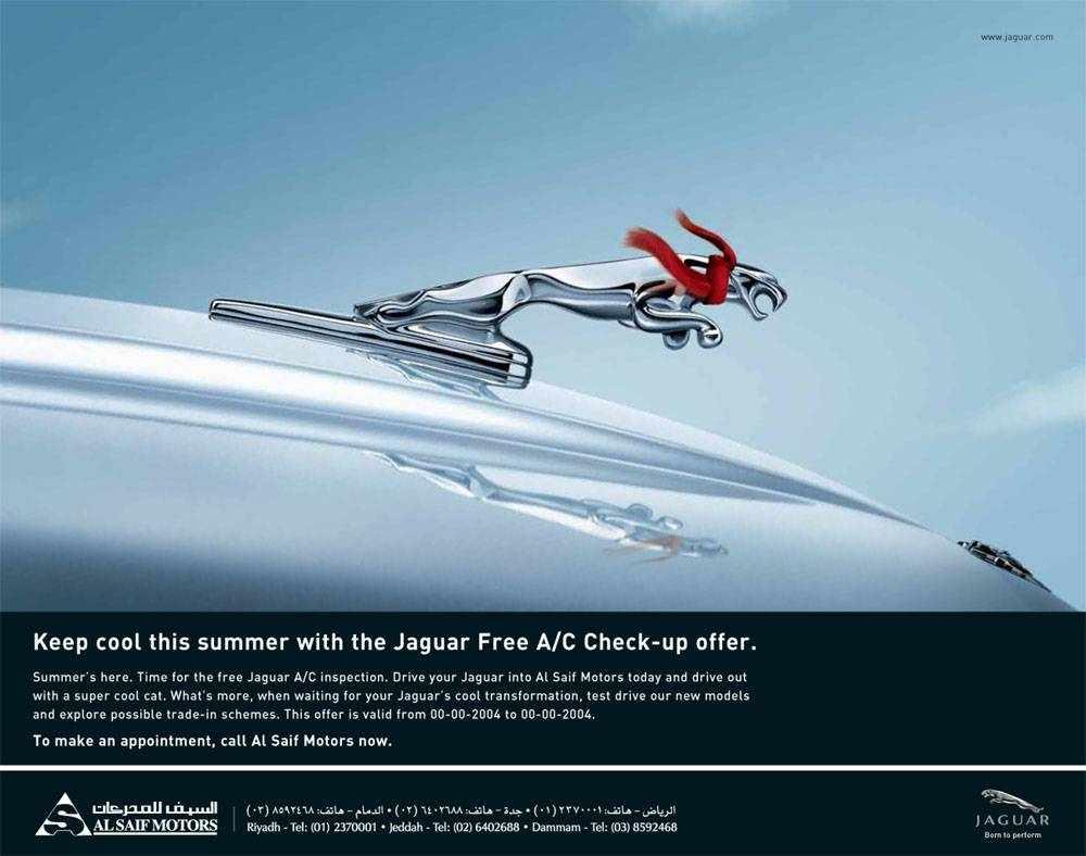 Jaguar Muffler Ad