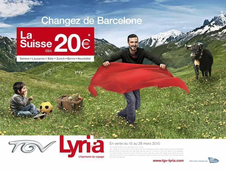 TGV LYRIA PARIS/SUISSE