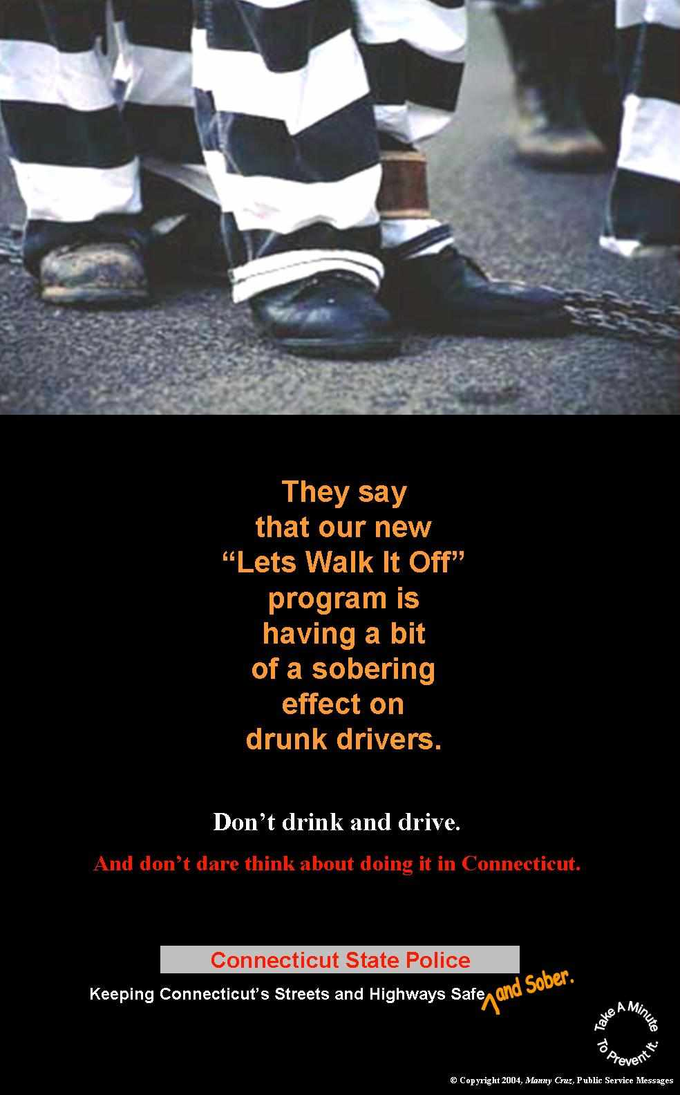 Drunk driving awareness/prevention ad ideas