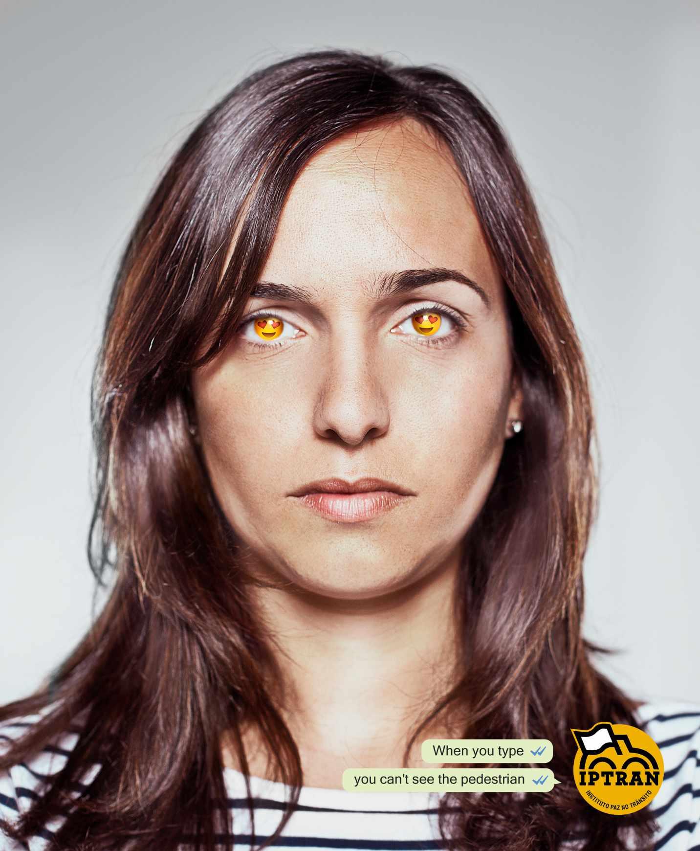 IPTRAN Print Ad - Emoji Eyes, 1