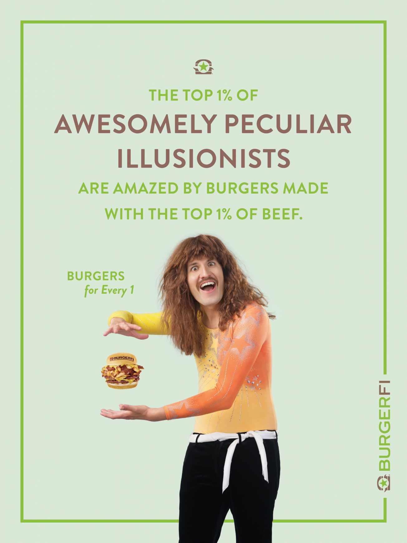 BurgerFi Print Ad - Illusionist