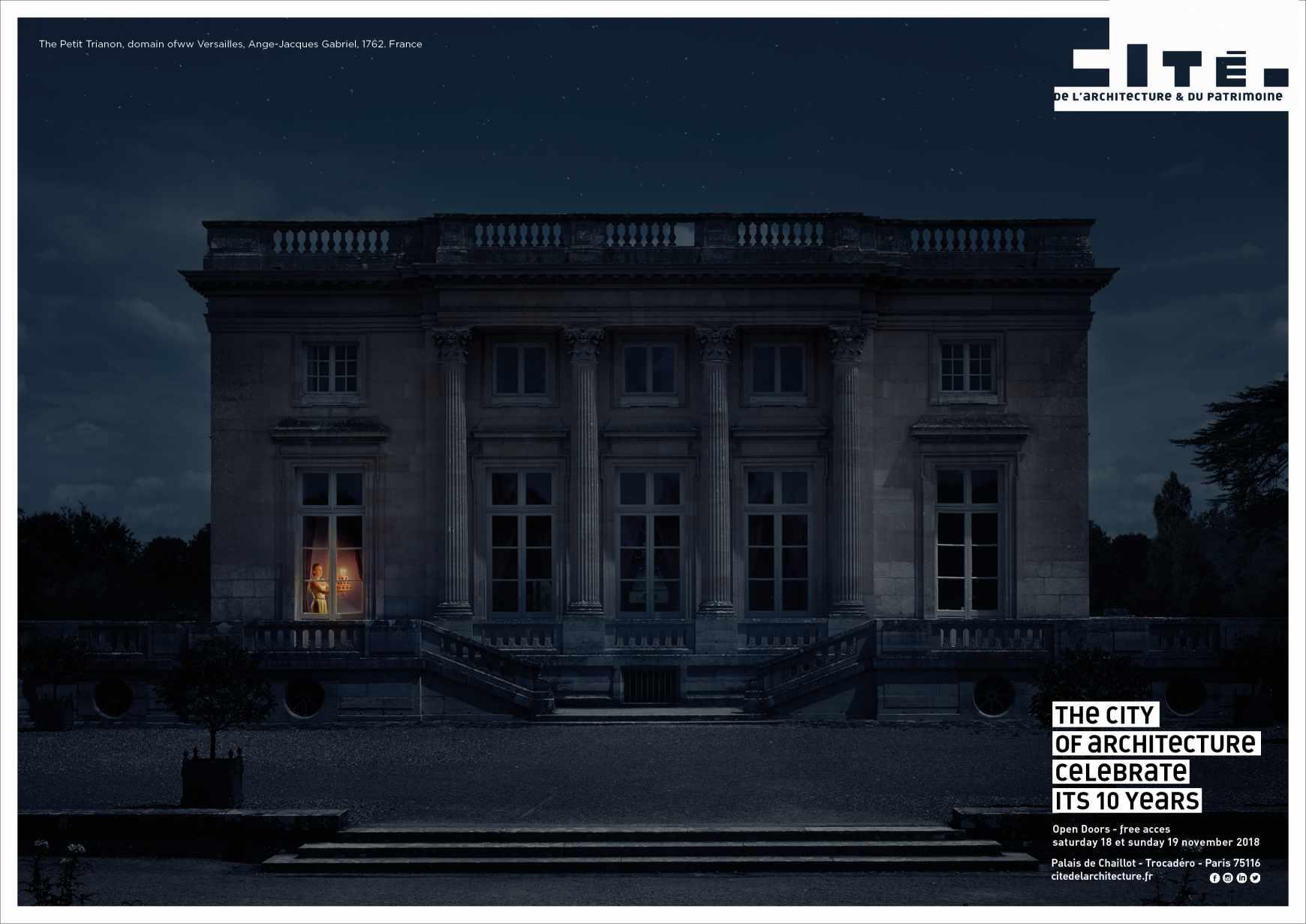 cité de l'architecture et du patrimoine Print Ad - Petit Trianon
