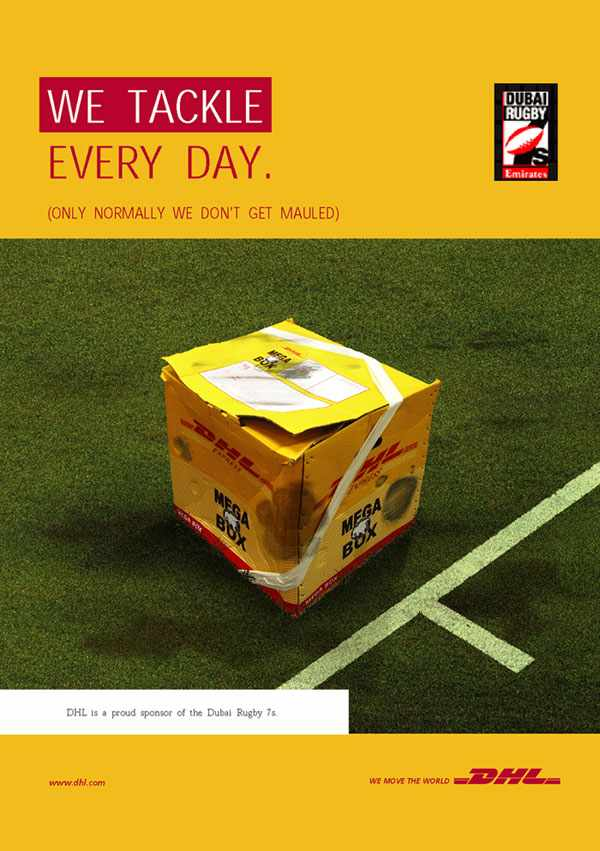 DHL Sponsoring of Dubai Rugby 7s