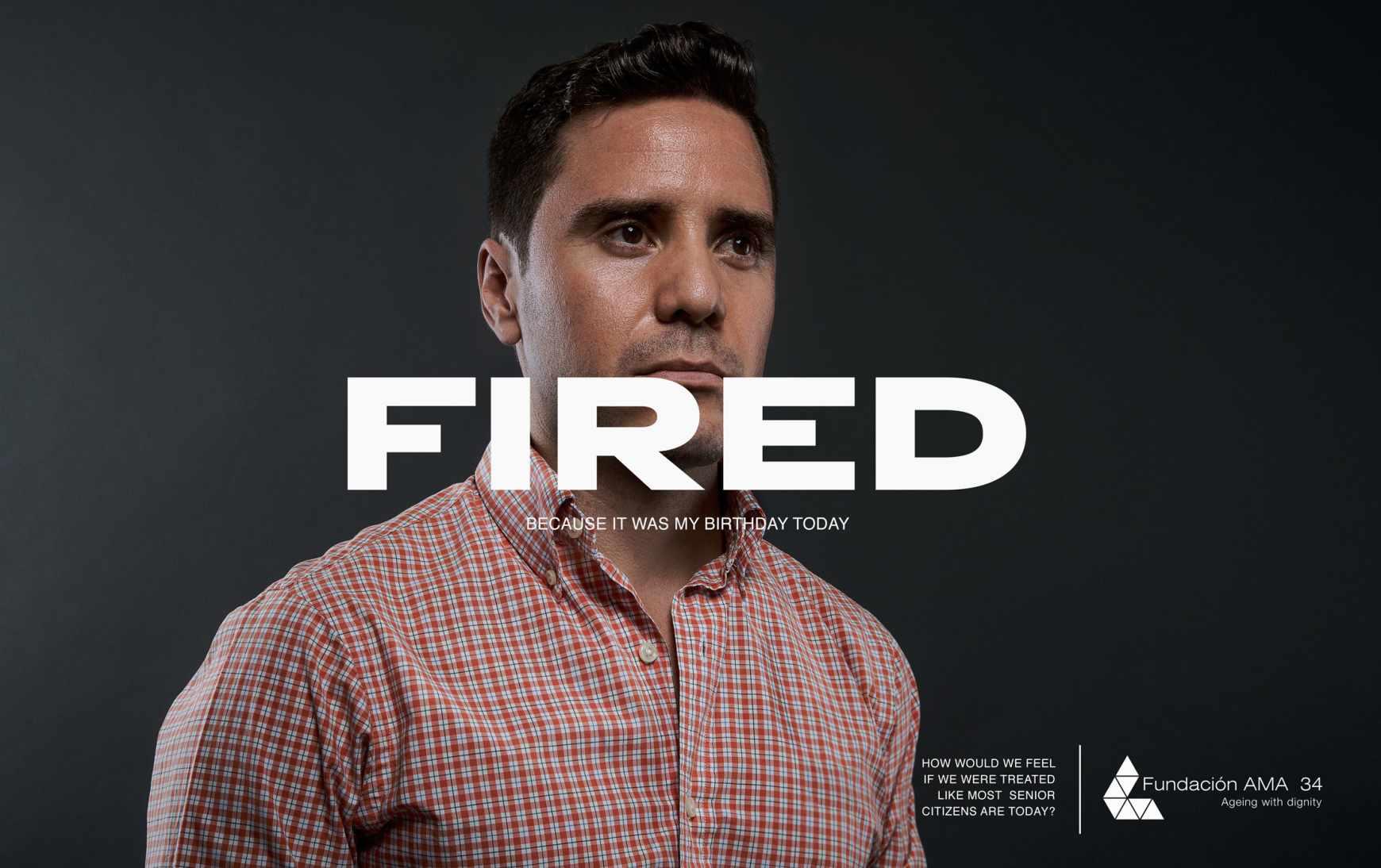 AMA 34 Foundation Print Ad - Fired