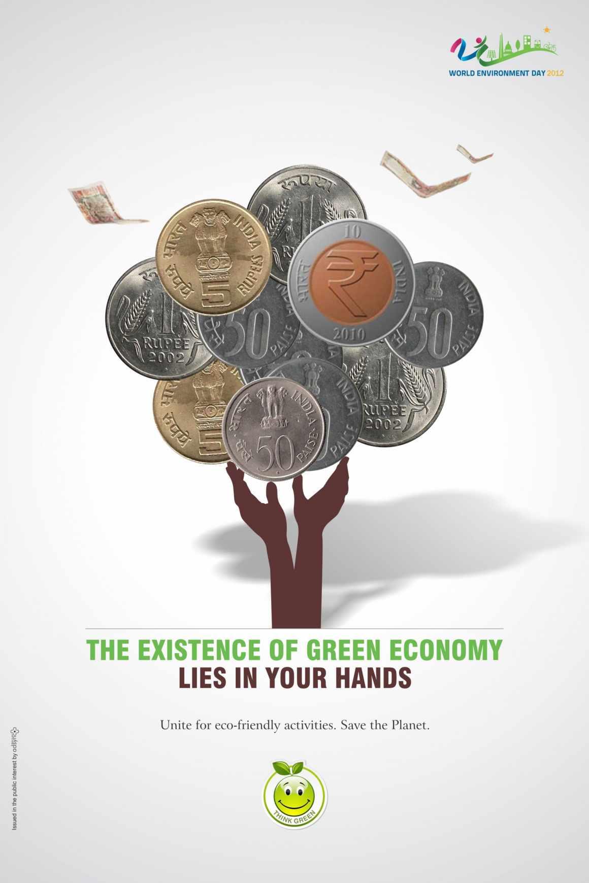 Green Economy Print Ad 1