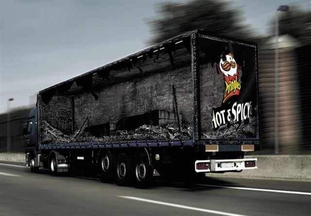 cool truck ads